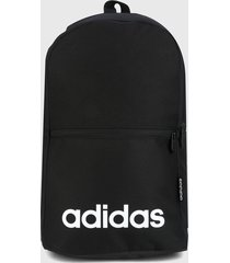 morral  negro-blanco adidas performance linear classic daily