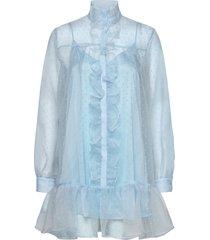 lil korte jurk blauw custommade