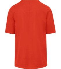 shirt van 100% katoen met ronde hals van day.like oranje