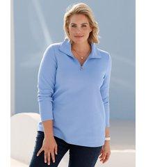 sweatshirt m. collection blauw