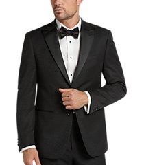 calvin klein black water drop slim fit suit