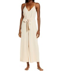 lightcodes celestial jumpsuit, size large in opal at nordstrom