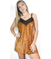 vestido cobre a lo juana