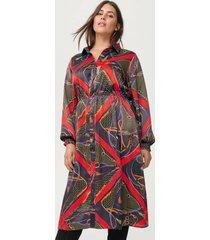 klänning xscarf medi dress
