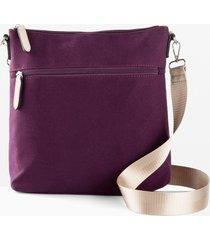 borsa a tracolla in tessuto (viola) - bpc bonprix collection