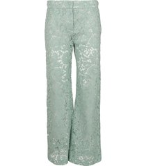 valentino pant in lace