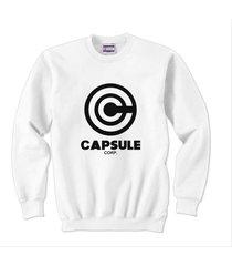 capsule corps 1 crewneck sweatshirt white