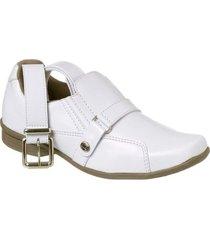 kit sapato social classic + cinto redmax infantil - masculino