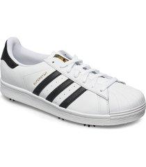 adidas golf superstar låga sneakers vit adidas golf