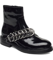 jc-715-14-1 / co shoes boots ankle boots ankle boot - flat svart pavement