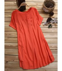 vestito cropped maniche corte