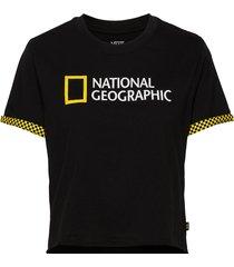 nat geo rollout t-shirts & tops short-sleeved svart vans