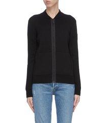 'lennox' zip wool jacket