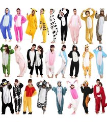 unisex adult pajamas kigurumi cosplay costume animal sleepwear robe dress