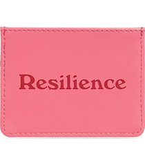 resiliency vegan leather card case