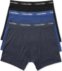 calvin klein men's cotton stretch boxer briefs 3-pack