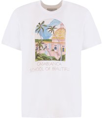 casablanca school of beautiful t-shirt