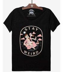 camiseta flamingo - masculina - masculino