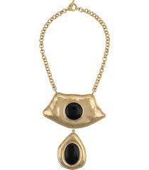 aurelie bidermann honey necklace - gold