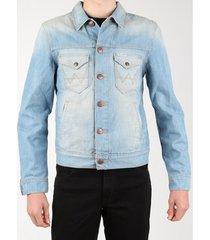 spijkerjack wrangler denim jacket w458qe20t