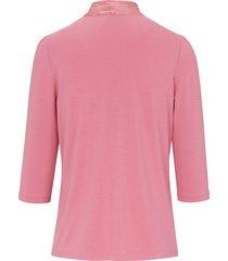 shirt met v-hals van uta raasch lichtroze