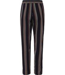 broek elastische band en zoomsplitten van lanius zwart