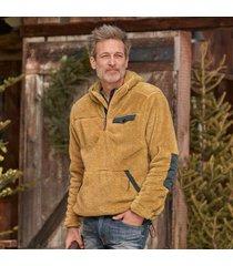 sundance catalog men's alpine slopes hoodie in olive small