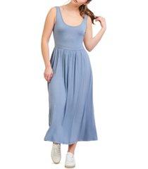 black tape banded-waist midi dress