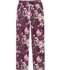 pantaloni per pigiama in cotone biologico (viola) - bpc bonprix collection