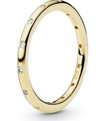 anel de ouro pontos de luz