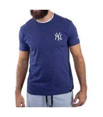 camiseta casual new era fashion rib neyyan masculina