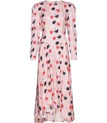 sanja jurk knielengte roze custommade
