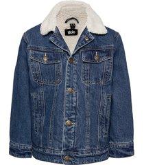 hen outerwear jackets & coats denim & corduroy blauw molo