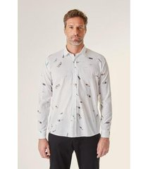 camisa reserva regular ml est urca masculina - masculino