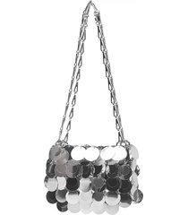 paco rabanne iconic 1969 mini shoulder bag