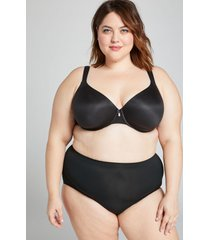 lane bryant women's level 1 smoother full brief panty 18/20 black