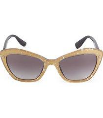 55mm star cat eye sunglasses