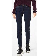 mk jeans skinny selma - indaco scuro (blu) - michael kors