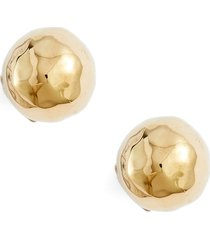 ippolita hammered ball stud earrings in gold at nordstrom