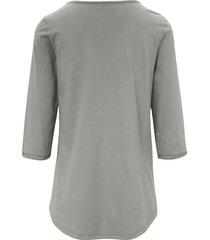 shirt van 100% katoen met 3/4-mouwen van green cotton groen