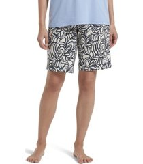 hue women's blooms sleep bermuda