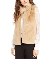 thalia sodi faux-fur vest, created for macy's