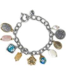 patricia nash women's charm bracelet