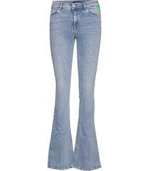stella flare jeans wijde pijpen blauw replay