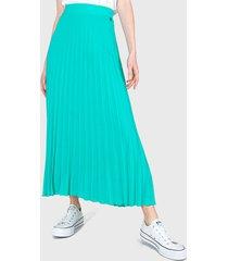 falda io verde - calce regular