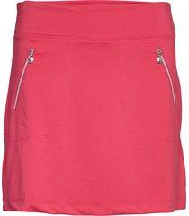 madge skort 45 cm kort kjol rosa daily sports