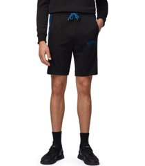 boss men's headlo slim-fit jersey shorts