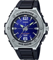 casio men's black resin strap watch 50.6 mm