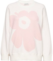lohdukas unikko knitted pullover gebreide trui roze marimekko