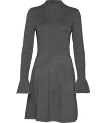 florentina dress gebreide jurk grijs inwear